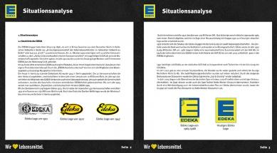 Brandbook EDEKA Situationsanalyse