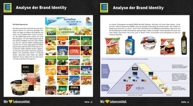 Brandbook EDEKA Analyse Brand Identity