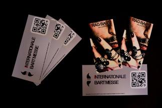 Flyer und Eintrittskarten Internationale Bartmesse